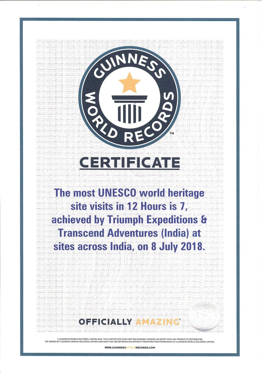 UNESCO-triumph-certificate